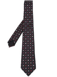 Gucci Flower Pattern Tie Midnight