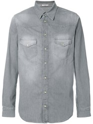 Notify Jeans Classic Fitted Shirt Grey