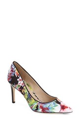 Women's Via Spiga 'Carola' Pointy Toe Pump Floriana Print