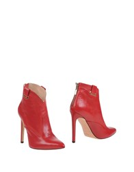 Mangano Ankle Boots Red