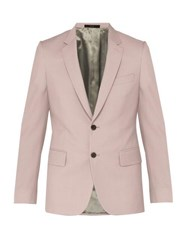 Paul Smith Soho Tailored Wool Blend Suit Jacket Light Pink