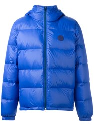 Paul Smith Ps By Padded Jacket Blue