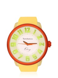 Tendence Fantasy 3H Yellow And Orange Watch Orange Yellow
