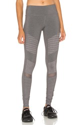 Alo Yoga Moto Legging Gray