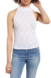 Project Social T Lovin Up Tank White