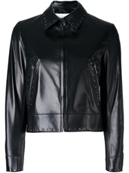 Valentino Studded Jacket Black