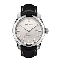 Bremont Solo White Dial Watch Unisex Blue