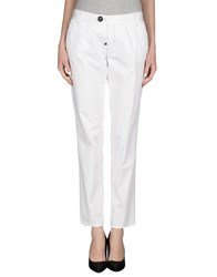 Dek'her Trousers Casual Trousers Women White