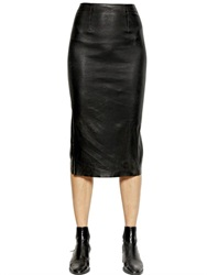 Each X Other Stretch Nappa Leather Pencil Skirt
