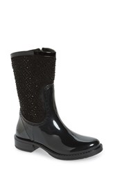 Posh Wellies Women's 'Cerussite' Crystal Embellished Rain Boot
