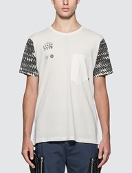 Stone Island Shadow Project Printed Catch Pocket T Shirt White