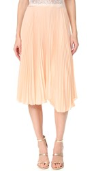 Loyd Ford Pleated Skirt Misty Rose