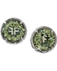 Effy Collection Effy Green Amethyst Stud Earrings In Sterling Silver 6 1 4 Ct. T.W.