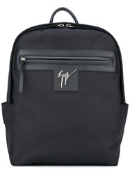 Giuseppe Zanotti Design 'Baron' Backpack Black