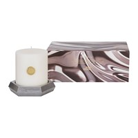 Tom Dixon Alloy Pillar Candle