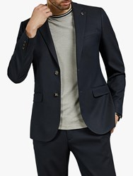 Ted Baker Hemsby Rarebit Jacket Navy Blue