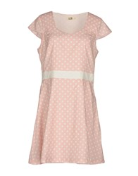 Molly Bracken Short Dresses Light Pink