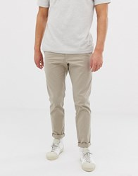 Kiomi Slim Fit Chino In Beige