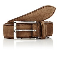 Harris Men's Suede Belt Brown