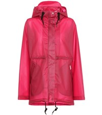 Hunter Original Vinyl Raincoat Pink