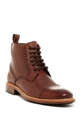 Crosby Square Montgomery Lace Up Derby Boot Brown