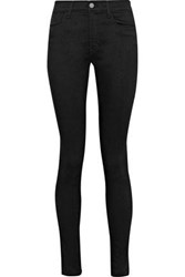 Iris And Ink Jessica High Rise Skinny Jeans Black