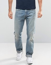 Edwin Ed 49 Red Listed Selvedge Relaxed Fit Jeans Blue