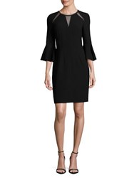 Elie Tahari Garcia Embellished Sheath Dress Black
