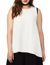 Rachel Rachel Roy Plus Katherine Cap Sleeve Blouse Canvas