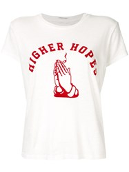 Mother The Sinful T Shirt White