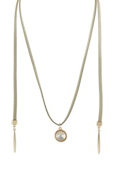 Sweet Deluxe Talibe Necklace Camel Goldcoloured Topaz