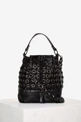 Nasty Gal Nila Anthony Rivet Or Die Bucket Bag