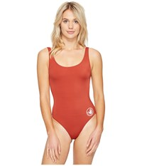 Body Glove Smoothies U And Me One Piece Terracotta Women's Swimsuits One Piece Orange
