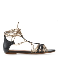 Ralph Lauren 'Mabelle' Sandals Black