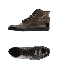 Roy Rogers Roy Roger's Footwear High Tops And Trainers Men Khaki
