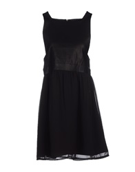 Supertrash Short Dresses Black