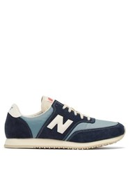 New Balance Comp 100 Suede And Nylon Trainers Blue Multi