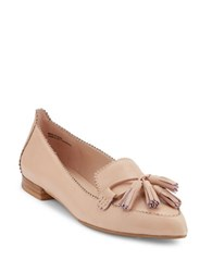 G.H. Bass Kelsey Leather Dress Flats Pink