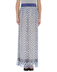 Philosophy Di Alberta Ferretti Long Skirts White