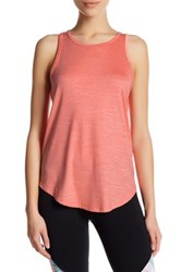 Marika Opal Back Knot Tank Orange