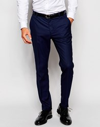 Selected Homme Suit Trousers In Slim Fit Blue