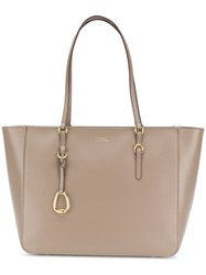 Ralph Lauren Classic Shopper Tote Nude And Neutrals