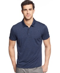 Alfani Big And Tall Ethan Performance Polo Lucky Blue