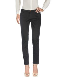 Jaggy Casual Pants Black