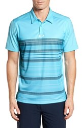 Oakley High Crest Polo Shirt Bright Cerulean