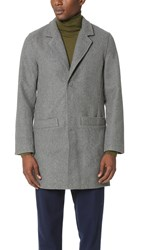 Han Kjobenhavn Bankers Trench Light Grey