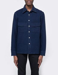 The Hill Side Coupe Shirt Indigo