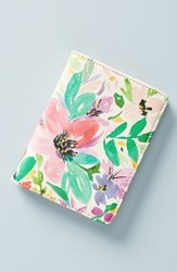 Anthropologie La Tinta Passport Cover Pink Multi