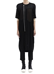 Rick Owens Pillbug Cocoon Coat Black