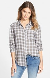 Junior Women's Bp. Plaid Shirt